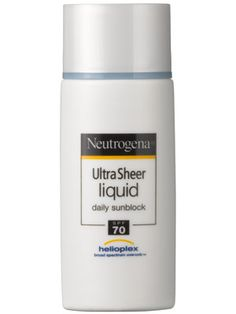 Neutrogena Ultra Sheer Liquid Daily Sunblock SPF 70 Review: Skin Care: allure.com