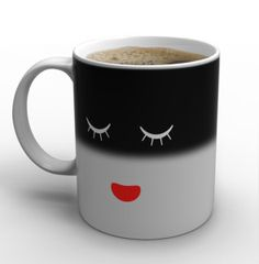 IPOW Color Changing Mug 2 Pack Magic Mug Heat Changing Mugs For Morning Coffee Tea Milk Ceramic Coffee Mugs Heat Sensitive Mug for All Holliday Special Day Best Gift Choice 12 Oz Coffee Cafe, Hot Coffee, Coffee Mugs, Cute Mugs, Funny Mugs, All You Need Is, Mug Printing, Face Design, Ceramic Mugs