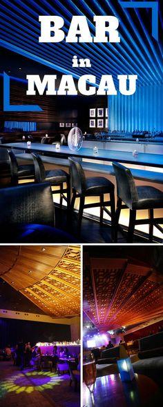 This wonderful Bar inside Hard Rock Hotel in Macau.