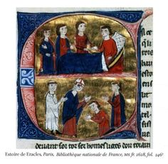 This initial is concerned with the transmission of power between King Baldwin IV and his nephew Baldwin V.