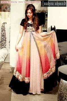 Zahra Ahmad Winter-Fall 2014 | Golden-age Formal Party Put on Dresses - FASHIONPAB | FASHIONPAB
