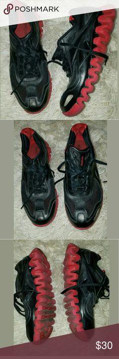 Boys Reebok Zig Tech Running Athletic Sneaker Shoe Boys Reebok Zig Tech Running Athletic Sneaker Shoes Black Red 5.5 Reebok Shoes Sneakers