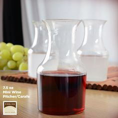 Who's in for a Cocktail Party? We've got the perfect mini #Wine #Carafe for the drinks. #NEW http://flsinc.co/1g0hW8j