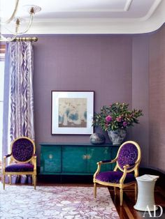 South Shore Decorating Blog: What I Love Wednesday: Pink and Purple