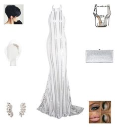 """""""Here Comes the Bride"""" by irockcrowns ❤ liked on Polyvore featuring Posh Girl, Giuseppe Zanotti, Jimmy Choo, Jennifer Behr and Dorothy Perkins"""