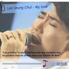 Lee Seung Chul - My love KPop