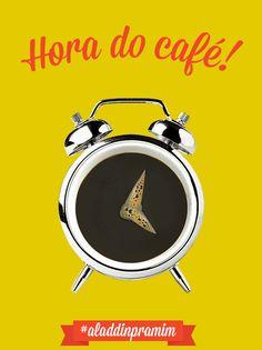 Melhor despertador! Um bom café te inspira a ser mais produtivo.