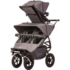 Adventure Buggy Co. Aspire Twin Solo Toddler Seat Pram for Triplets/Twins Twin Strollers, Double Strollers, Triple Pram, Triplets, Twins, Quad Stroller, Stroller Workout, Stroller Storage, Bebe