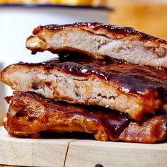 Costine di maiale laccate Quail Recipes, Kebab Recipes, Chicken Recipes, Beef Skillet Recipe, Rib Meat, Healthy Recepies, Pork Ribs, Italian Recipes, Food Porn
