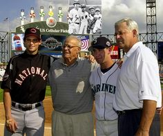 The Boones  The Boone family -- including grandfather Ray, father Bob, and sons Bret and Aaron -- was the first to send three generations to the MLB All-Star game.