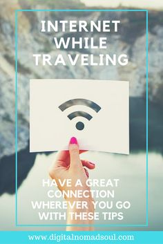 Learn how you can have a great internet connection anywhere in the world. These tips & hacks help you to get wifi wherever you are and increase your signal. This is especially important for digital nomads, blogger or remote workers, who need internet for their online job, but also for travelers who simply enjoy staying connected while abroad.