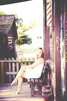 Barber shop senior girl pictures. Vintage. White dress. Vintage Senior Pictures, Girl Senior Pictures, Senior Girls, Barber Shop, Barefoot, White Dress, Sexy, Pretty, People