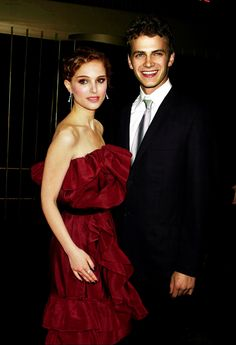 Natalie Portman and Hayden Christensen. <3