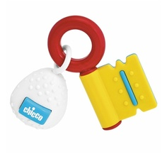 Chicco Rainbow Key  3 Months+   Rattle and a Teether where Baby discovers different Manual Activities