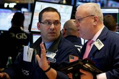 Apple, banks push Wall Street to all-time high