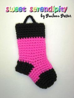 """Mini Christmas Sock"" Ornament"