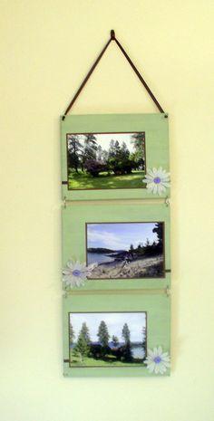 Photo wall hanging.