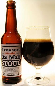 Stadin Panimo Double Oat Malt Stout 6,8% pullo