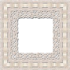 Crochet Picture Frame | Urdu Designed Poetry: Frame--15