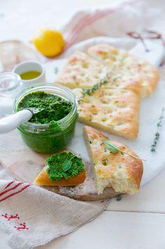 Focaccia au cumin et citron ©Fraise et Basillic