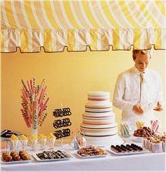 Dessert bar inspiration