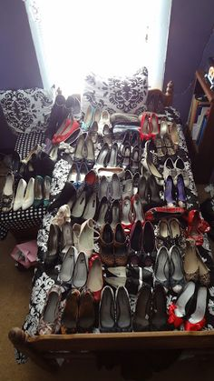 My 62-pair Shoe Collection from my blog Adventures of a Vintage Hippo