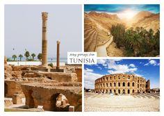 Viele Grüsse aus Tunesien | Urlaubsgrüße | Echte Postkarten online versenden | MyPostcard.com