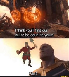 I thunk you'll find our wnll to be equal to yours - iFunny :) Video Game Memes, Video Games Funny, Funny Games, Marvel Funny, Marvel Memes, Funny Comics, Funny Sports Memes, Stupid Funny Memes, Funny Stuff
