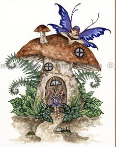 Amy Brown: Fairy Art - The Doormouse
