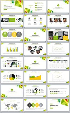 24+ simple business report PowerPoint Templates