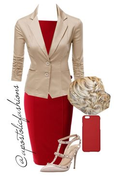 """Apostolic Fashions #897"" by apostolicfashions ❤ liked on Polyvore featuring LE3NO, Doublju, Valentino, Maison Takuya, women's clothing, women, female, woman, misses and juniors"