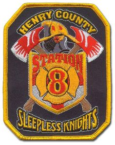 Henry County Fire Department Patch