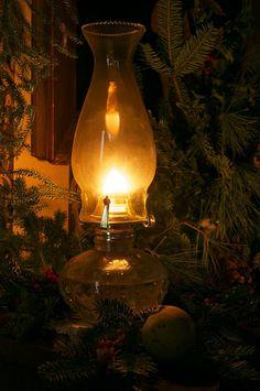oil-burning lantern