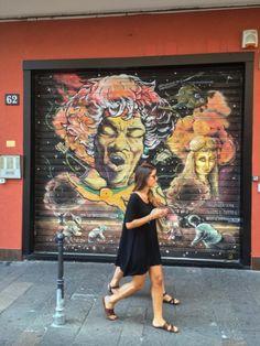 Milan Graffiti Art Surprises @globetrottingmama