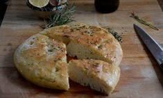 Focaccia : warm, salty, welcoming
