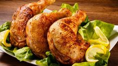Ingredients: Chicken — 700 g Lemon — 0,5 PCs. Honey — 1-2 tbsp Salt — to taste The mixture of peppers — to taste Sour cream — 2 tbsp