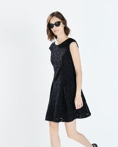 ZARA - WOMAN - SHORT GUIPURE MERMAID DRESS