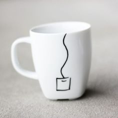How to decorate your mugs and make them dishwasher safe - no baking necessary!