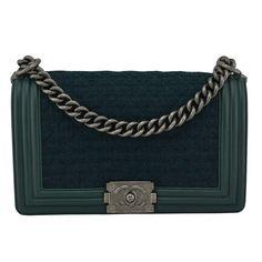 Chanel Boy leather handbag Chanel Boy 25b01f7f9b981
