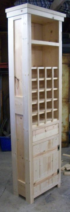Butlers pantry wine cabinet
