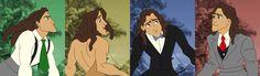 Color spectrum Tarzan
