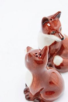 Shop Fox Salt and Pepper Shakers at Urban Outfitters today. We carry all the latest styles, colours and brands for you to choose from right here. Salt Pepper Shakers, Salt And Pepper, Urban Outfitters, Bar Accessories, Cool Pets, Throw Cushions, Duvet Cover Sets, Tea Set, Decoration