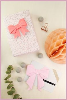 Origami Schleife - die einfache DIY Anleitung | frau friemel