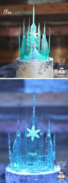 Ideas birthday food frozen elsa for 2019 Frozen Castle Cake, Disney Frozen Cake, Elsa Castle, 4th Birthday Cakes, Frozen Birthday Cake, Frozen Party, Frozen Wedding Theme, Wedding Cake, Cake Competition