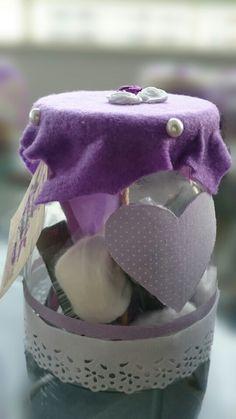 Presente madrinhas (kit beleza) - Feito por Lívia Beatrice  Spa in a Jar