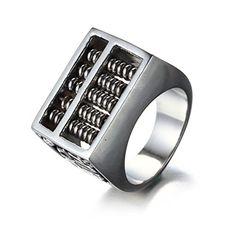 DISANZHE Men's Stainless Steel Rotation Spinner Silver Ba... https://www.amazon.com/dp/B01I4PVHP4/ref=cm_sw_r_pi_dp_5jlGxbYFWRAH9