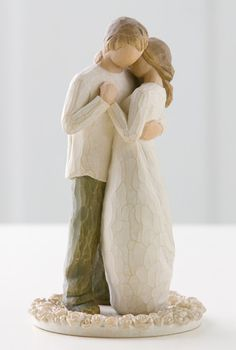 Willow Tree, Promise cake topper. I love this collection and this would be perfect!