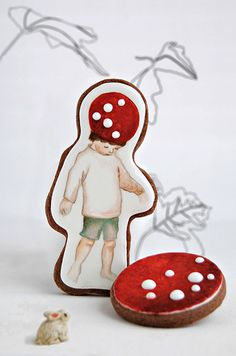 Little Lord Mushroom - Vanina at Viva la Tarta