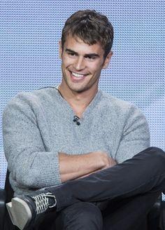 Theo+James | Grey' Movie Casting: Victoria Beckham to Play Ana Steele, Theo James ...