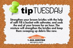 SERVPRO Cleaning Tip